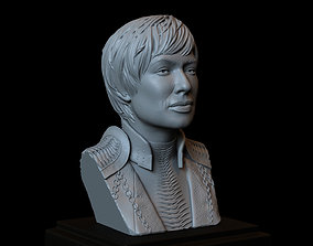 Cersei Lannister - Game Of Thrones - 3D printable model 3