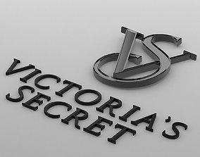 victorias secret logo 3D model