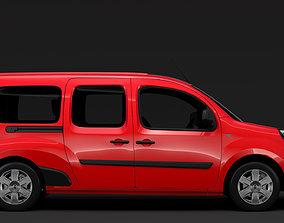 3D model Renault Kangoo Combi L3 2017