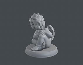 architecture Angel 3D print model