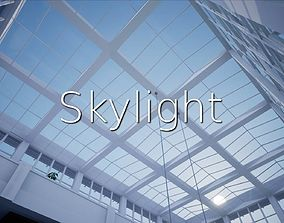 3D model game-ready Skylight SHC Quick Office LM