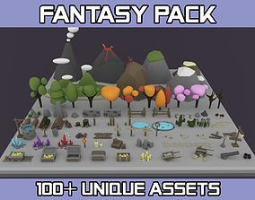 Fantasy Pack 3D asset
