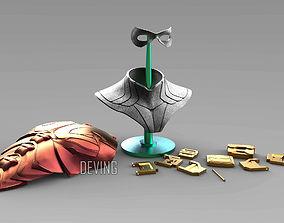 TITANS-ROBIN ARMOR -DICK GRAYSON- BY 3D printable model