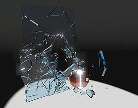 Shattering Glass 3D model