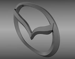 Mazda logo 3D model