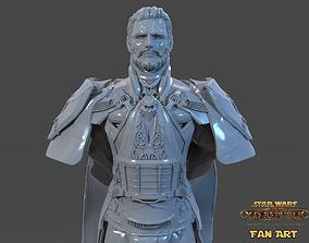 Emperor Valkorion Sculpture 3D Print Full