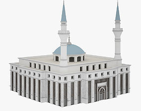 minaret Mosque 3D model