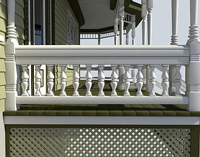 staircase Baluster 3D