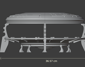 Space elfs terrain eldar warhammer 40k 3D print model 3