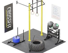 CrossFit Equipment 3D