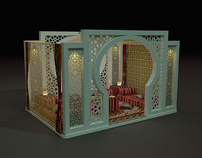 3D arabic cubicle 3mx3m saadu design