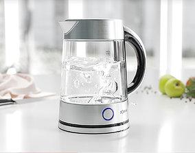 Transparent kettle 3D
