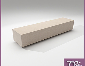 3D model BENCH GRANITE SOCRATES