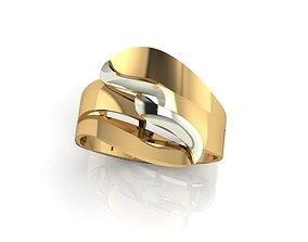 3D printable model ring stone F 460