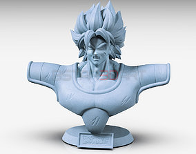 Broly Bust - from Broly Movie 2019 3D printable model