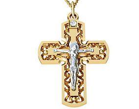 3D printable model Cross Jesus religion