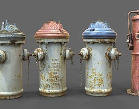 Fire Hydrant Utilities 3D model