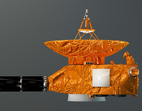 3D model New Horizons space probe v2