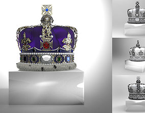 3D print model Crown of Elizabeth II Queen of the United