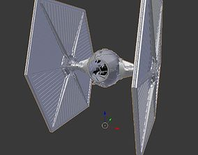 StarWars TieFighter With Cockpit 3D printable model