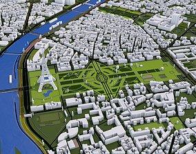 3D model Paris City of France
