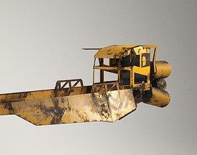 3D asset scifi vehicle junk