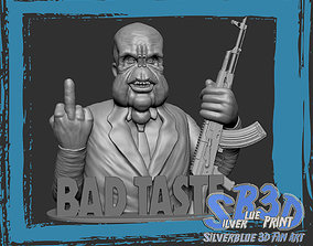 spooky 3D printable model Bad Taste CoverArt