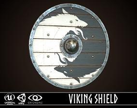 Viking Shield 35 3D asset