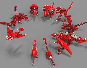 3D Lego Dinosaurs pack