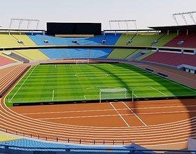 3D soccer Workers Stadium - Beijing China
