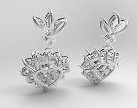 Pandant hearts 3D print model