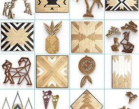 3D Wooden Decoration