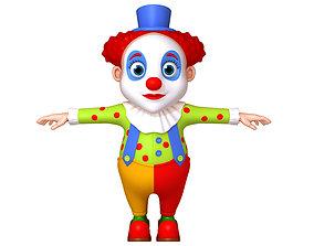 3D model Clown cartoon 03