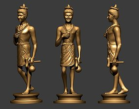 3dchatacter Lord Nilkanthvarni 3D Model for 3D Printing