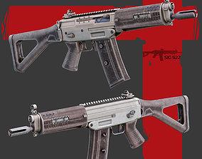 Sig522 Gun 3D model