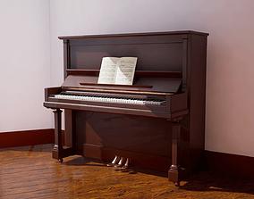 Piano 1 3D asset
