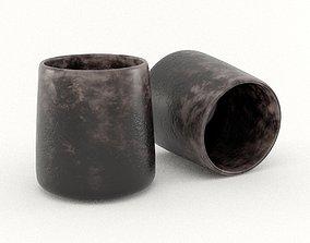 3D model game-ready Epoxy Resin Mug