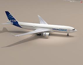 3D model airbus A300-200