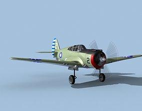 3D model Curtiss H-75C Mohawk V14 China
