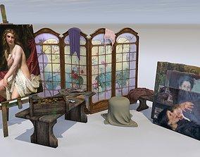 Artistic set 3D