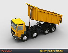 Lowpoly Dumper Truck 3D model