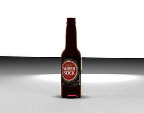 food 3D Beer Bottle