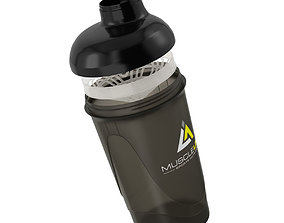 3D model Protein Shaker Mixer - High Detailed