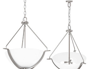 3D model Bravo Collection Light Inverted Pendant by 1