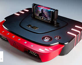 Generic Video Game Console 3D model