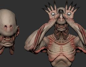 3D printable model Pale Man