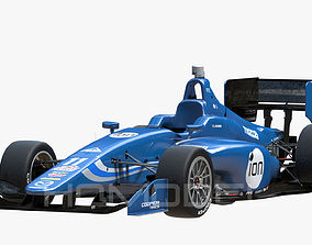 Indy Lights 2015 PBR 3D model low-poly