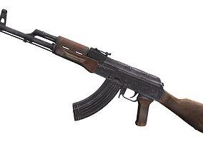 AK-47 Rifle 3D asset