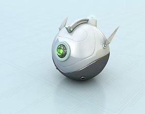scifi sphere 3D model