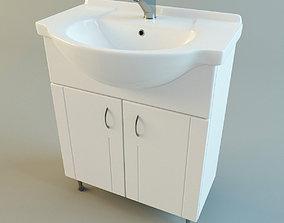 Washbasin sink 3D model